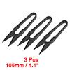 3Pcs 4.1-inch Sewing Trimming Scissors Nipper Embr...