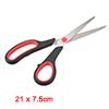 8.5 Inch Stainless Steel Scissor, Soft Comfort-Gri...