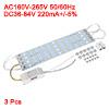 3pcs 36W 72 LEDs 5730 SMD LED Strip Light Lamp Chi...