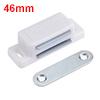 46mm Length ABS Plastic Door Cabinet Magnetic Catc...