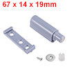 67mm Length ABS Door Cabinet Magnetic Soft Closer ...