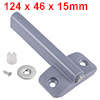 124mm Length ABS Door Cabinet Magnetic Soft Closer...