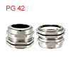 PG42 Cable Gland Metal Waterproof Connector Wire G...