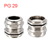 PG29 Cable Gland Metal Waterproof Connector Wire G...