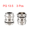 3Pcs PG13.5 Cable Gland Metal Waterproof Connector...