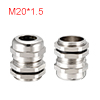 M20 Cable Gland Metal Waterproof Connector Wire Gl...
