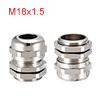 M18 Cable Gland Metal Waterproof Connector Wire Gl...