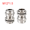 M12 Cable Gland Metal Waterproof Connector Wire Gl...