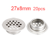 Air Vent, 19mm Bottom Dia, 304 Stainless Steel, Ro...