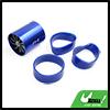 Blue Aluminum Alloy Dual Turbine Air Intake Turbo ...