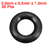 O-Rings Nitrile Rubber 3.5mm x 6.5mm x 1.5mm Seal ...