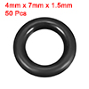 O-Rings Nitrile Rubber 4mm x 7mm x 1.5mm Seal Ring...