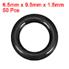 O-Rings Nitrile Rubber 6.5mm x 9.5mm x 1.5mm Seal ...
