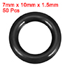 O-Rings Nitrile Rubber 7mm x 10mm x 1.5mm Seal Rin...
