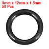 O-Rings Nitrile Rubber 9mm x 12mm x 1.5mm Seal Rin...