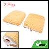 2pcs Beige Windscreen Body Washing Cleaning Gloves...
