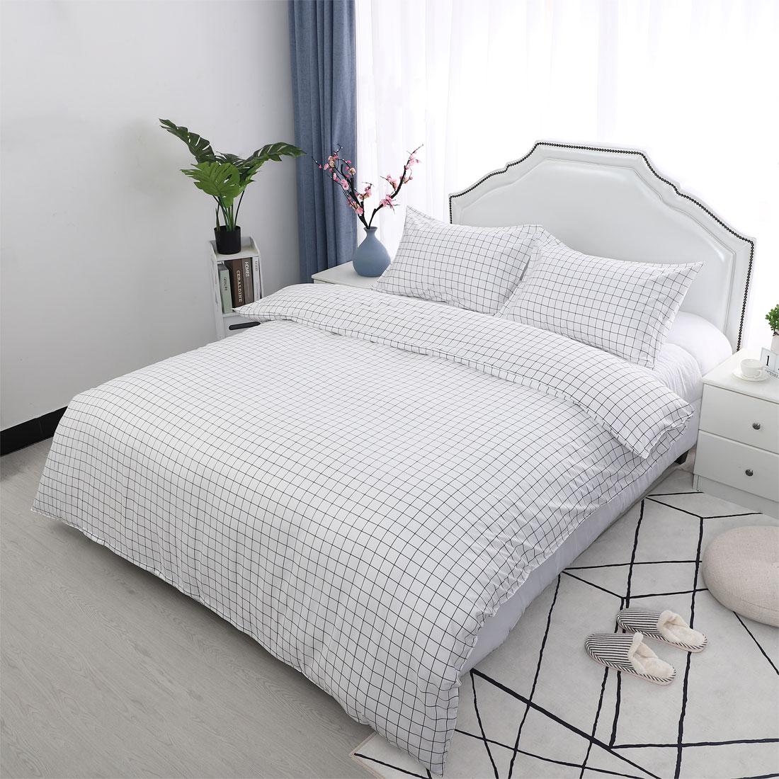 Floral-Bedding-Set-Duvet-Cover-Set-Comforter-Cover-Single-Full-Queen-King-4-Size thumbnail 14