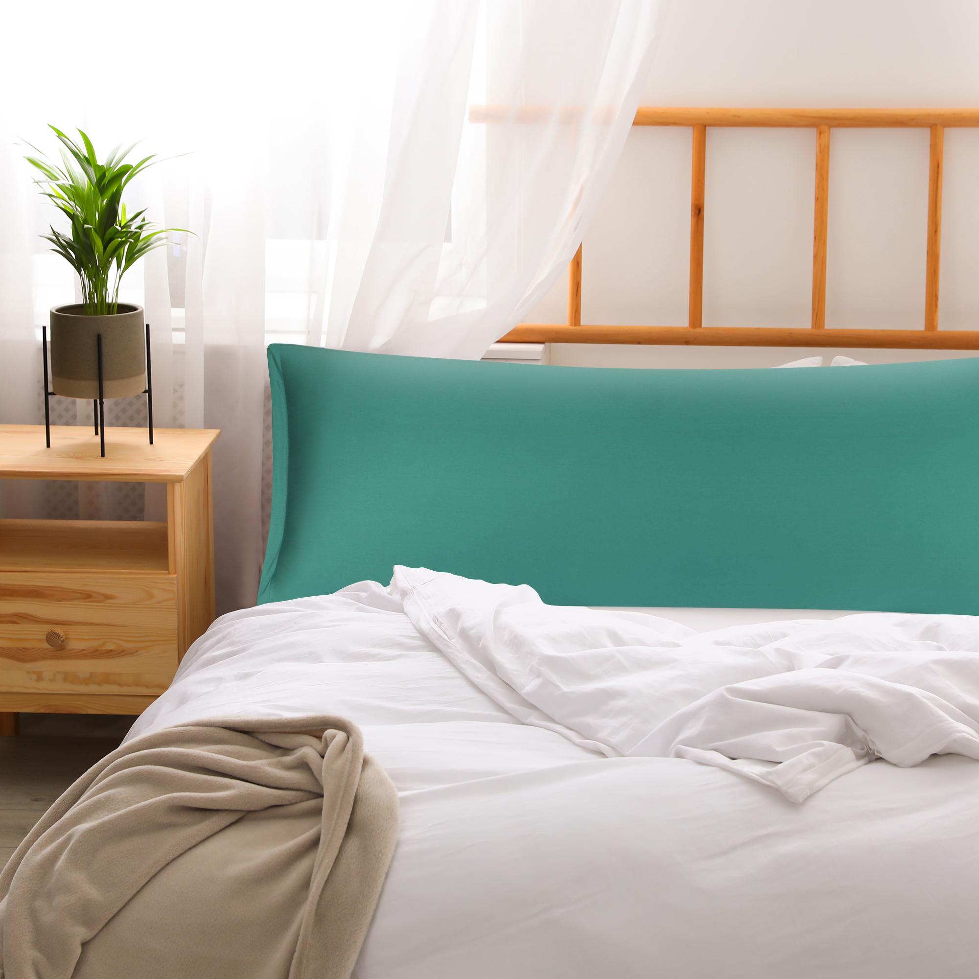 Body-Pillowcase-Pillow-Case-Cover-w-Zipper-100-Egyptian-Cotton-300TC-1-Piece thumbnail 26