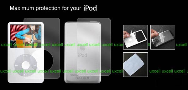 Screen Protector for iPod Video 5G