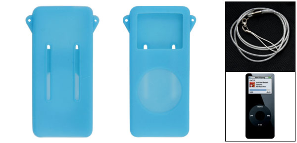 Silicon skin (Light Blue) for iPod Nano 1G