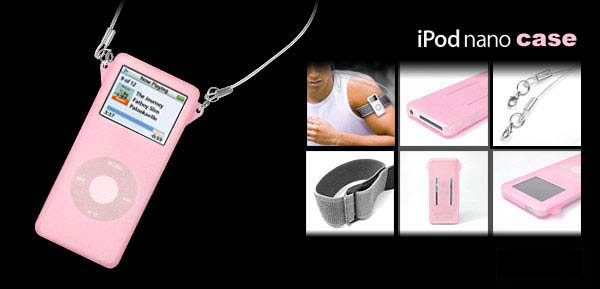 iPod Nano Skin (Sexy Pink)
