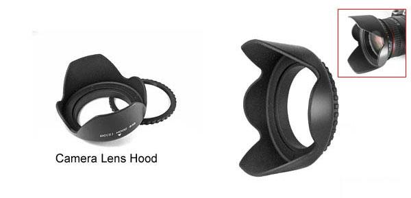 Camera Lens Hood - 55mm Diameter