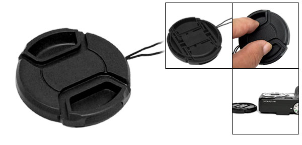 Camera Lens Cover - 52mm Diameter