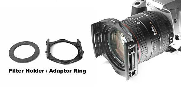 Camera Filter Holder & Adapter Ring - 67mm Diameter