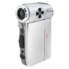 OPTIKA 3.0 inch TFT LCD 5.0 Mega Pixel 4x-16x Digital Zoom Video Camcorder Camera - Silver
