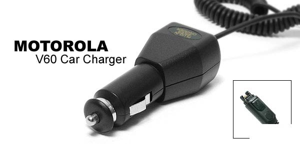 Car Charger for Motorola V60