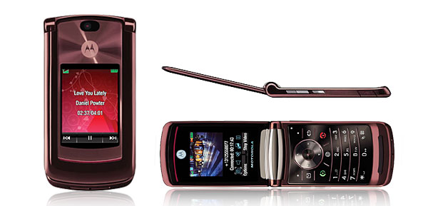 Motorola MOTO RAZR2 V9 Mobile Phone (Quad Band/SIM Free / Unlocked/ Purple)