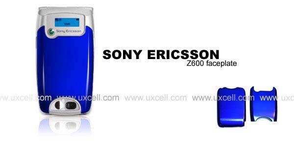 Sony Ericsson Z600 PVC Faceplate (Deep Blue)