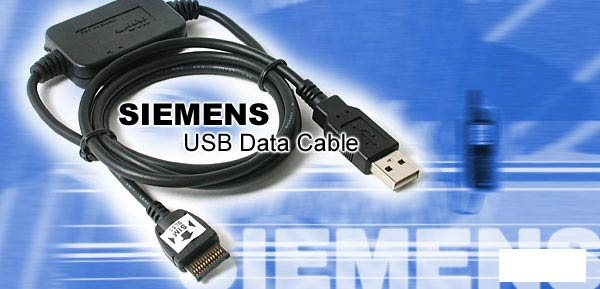 USB Data Cable + CD for Siemens SL55
